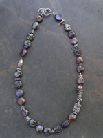 Image of Blue Coin Pearl Iane Necklace