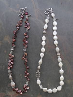Image of Pearl Iane Necklaces